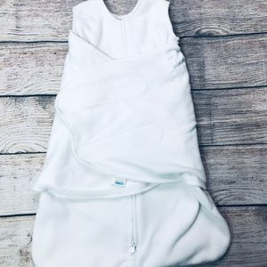 Newborn Halo Swaddle Sleepsack cream